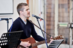 worship leader Jonny Pilkington