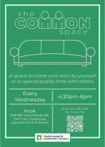 the Common space - flyer